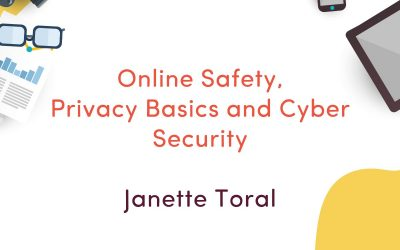 Online Safety, Privacy Basics and Cyber Security