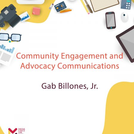Community Engagement and Advocacy Communications